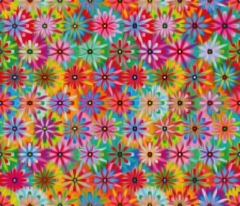 Gipsy-blur fabric by cassiopee on Spoonflower - custom fabric