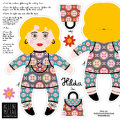 Hilda plushie