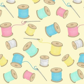 Sewing Notions 4 - spools of thread
