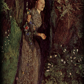 Sir John Everett Millais' Ophelia