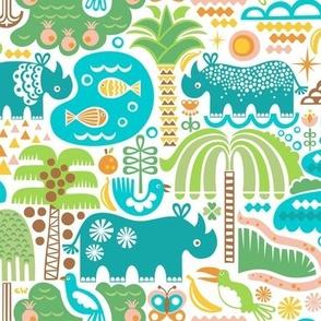 Rhino Habitats