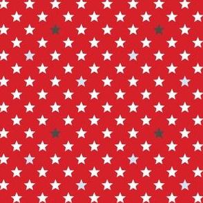 Stars red