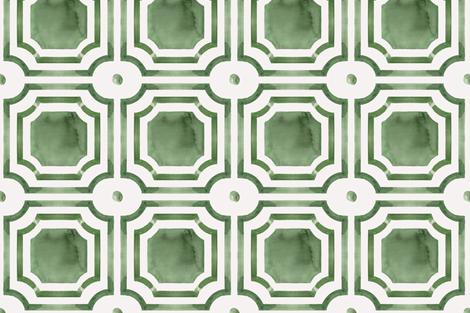 viv_NEW_global_leaf2x fabric by cest_la_viv on Spoonflower - custom fabric