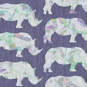 speckled rhinos