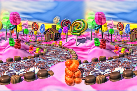 Pink Candyland Alternating
