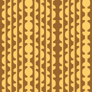 Topiary Stripe   -Serenity palette 2