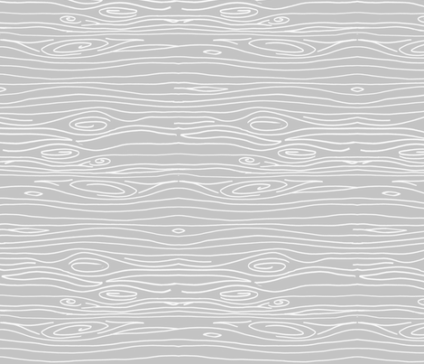 Wonky Woodgrain - Light Light Grey - Horizontal