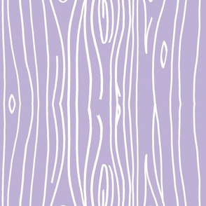Wonky Woodgrain - Lilac