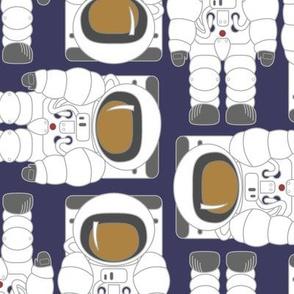 Cosmic Voyage Astronaut Repeat