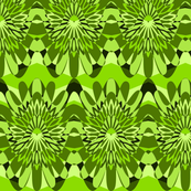 Mullti Waves in green