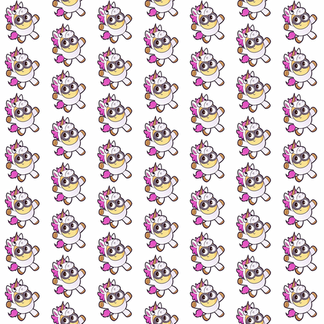 Minions Unicorn fabric by missymini on Spoonflower - custom fabric