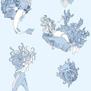 Merfolk Toile