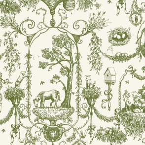 Forest Friends - Toile De Jouy