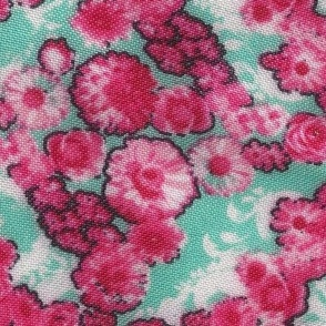 Ashlynn's Pink Posies Fabric
