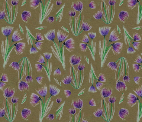 Chalk Chives fabric by van_winkle on Spoonflower - custom fabric