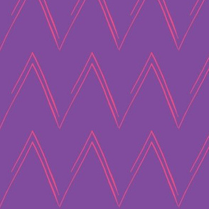 Pink and Purple Chevron