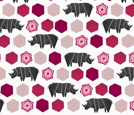 Rhinoce-Roses
