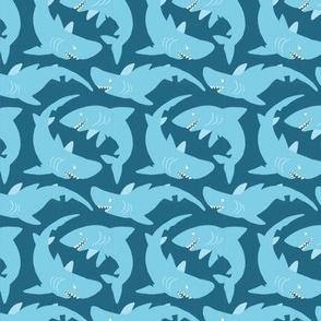 Sharktile (blue)
