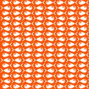 Fish Chase  Color: Mod Orange White
