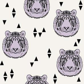 Tiger - Lavender by Andrea Lauren
