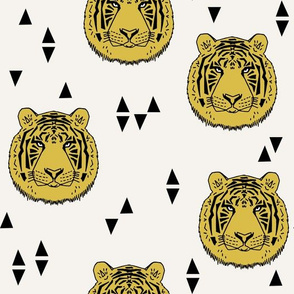 Tiger - Mustard by Andrea Lauren