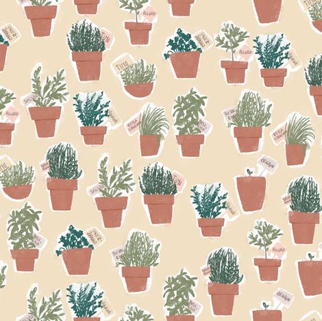 Odori - colorway 01 fabric by aliceelettrica on Spoonflower - custom fabric