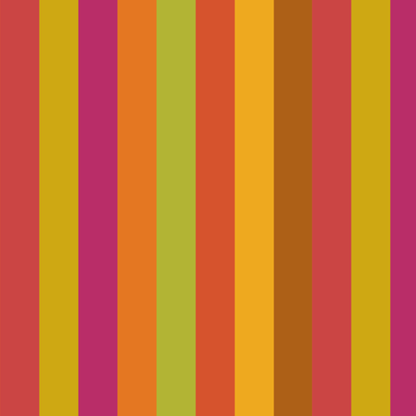 Broad Citrus Stripes
