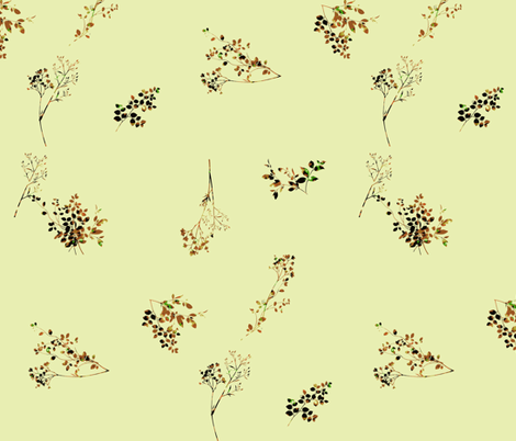 Herb Garden Produce fabric by ravynscache on Spoonflower - custom fabric