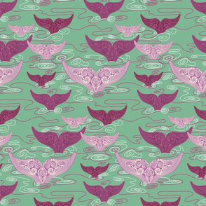Whales_in_gentle_green