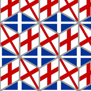 disunited kingdom flag cube