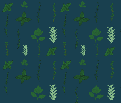 Herb Garden fabric by svaeth on Spoonflower - custom fabric