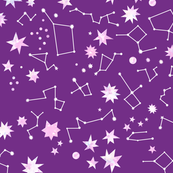 star map purple