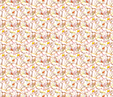 Anemone fabric by ala_naimi on Spoonflower - custom fabric