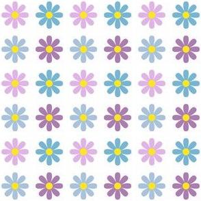 flower8 polkadot x4