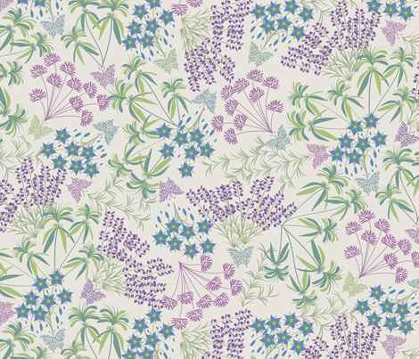 Herb Garden fabric by jill_o_connor on Spoonflower - custom fabric