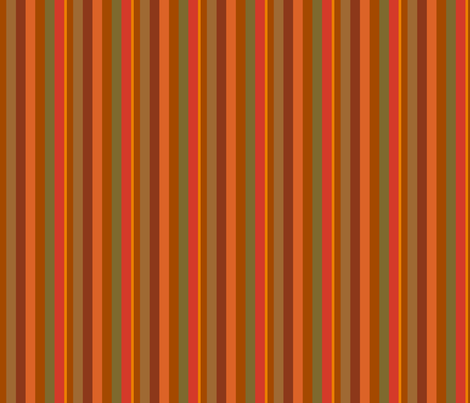 Orange and Green Stripes