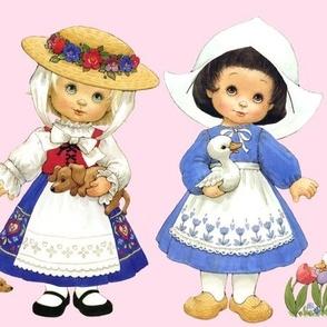 traditional cultural children france french germans germany holland dutch ireland irish australia japan japanese russia russians spain Spanish