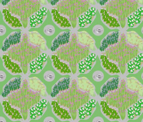 herbs fabric by roxiespeople on Spoonflower - custom fabric