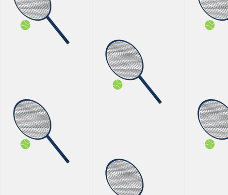 Tennis-ch fabric by taylor72413 on Spoonflower - custom fabric