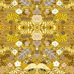 Golden wheat luna garden