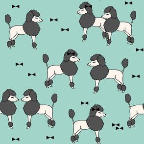 poodle // poodles dog fabric