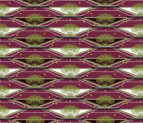 Come_and_Play_Two Tone. fabric by art_on_fabric on Spoonflower - custom fabric