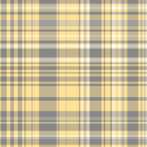 Gray & Yellow Plaid