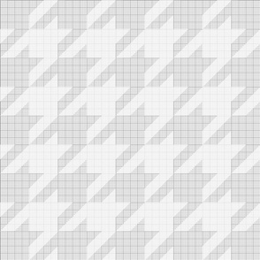 houndstooth graph paper (cloudy)