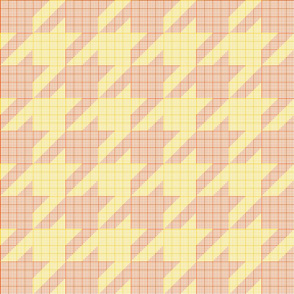 houndstooth graph paper (solar)