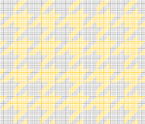 houndstooth graph paper (sunflower)