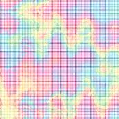 crazy rainbow graph paper
