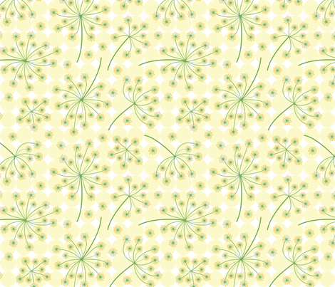 Dill Flowers fabric by brendazapotosky on Spoonflower - custom fabric