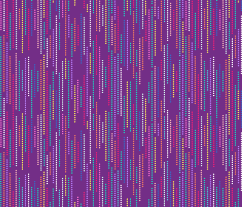 starry stripes purple