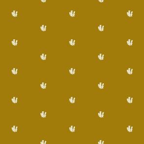 Golden Bee Balm Coordinating Pattern